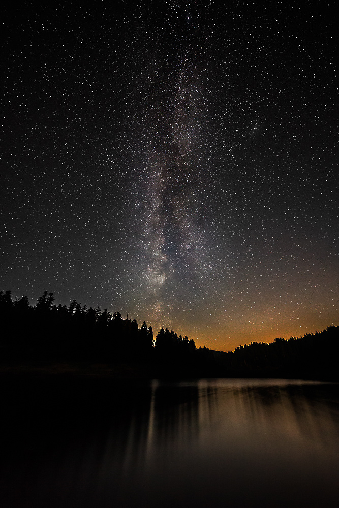 Milky Way at Schwarzenbach Reservoir