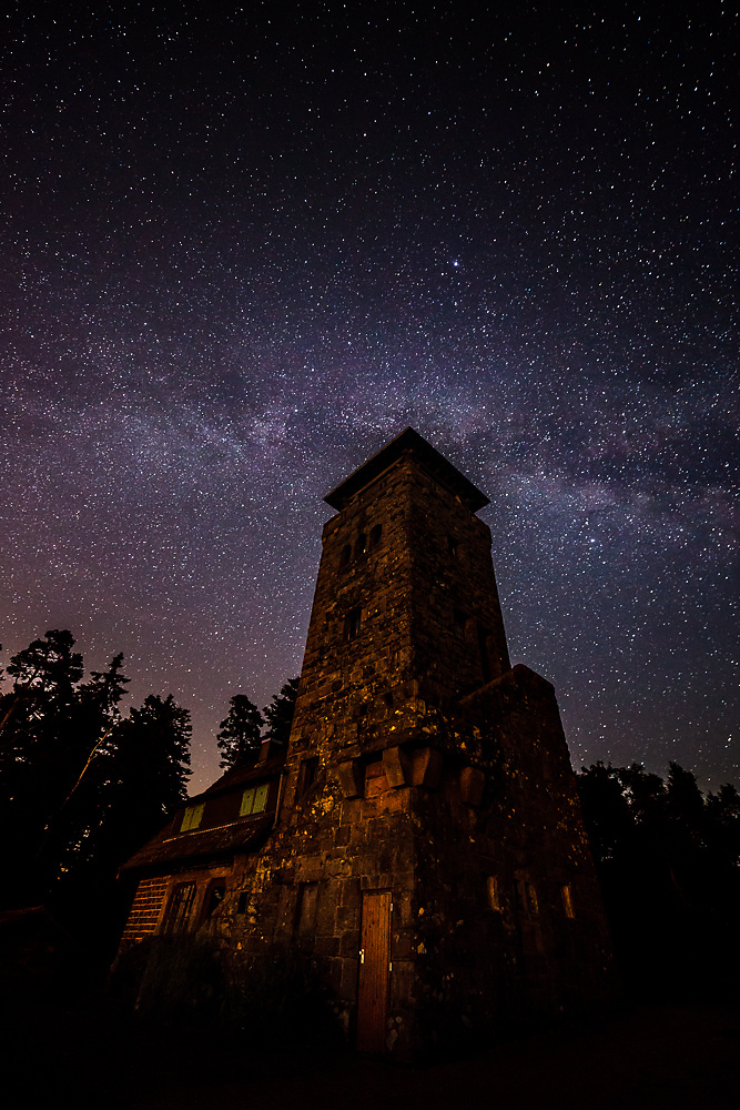 Milky Way at the Devil's Mill
